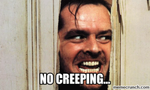 no-creeping